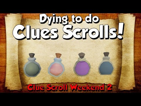 Dying to do Clue Scrolls! [Runescape 3] Clue Scroll Week #2 Gains