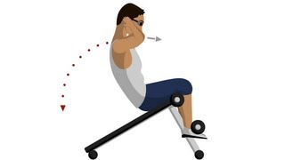 Incline Sit-Up - Abdominal Exercises