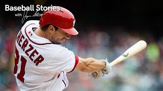 Scherzer Reflects on His Lone Home Run | Baseball Stories