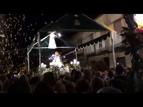 Petalada a la Virgen de las Virtudes 2014