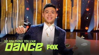 The Season 16 Winner Is Revealed | Season 16 Ep. 15 | SO YOU THINK YOU CAN DANCE