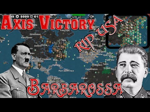 Axis Victory Royale; Barbarossa Day 16! Updated 1941 Conquest! GPW Mod World Conqueror 4 #1