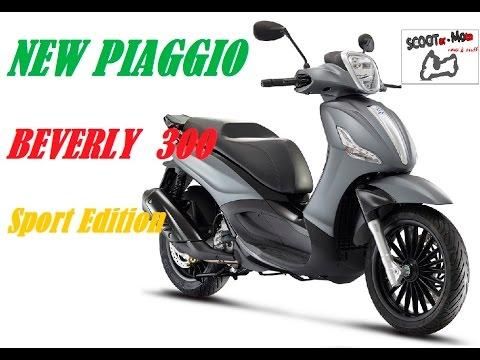 NEW PIAGGIO BEVERLY 300 S - New colours - sport edition