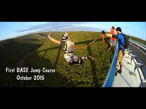 First BASE Jump Course - October 2015