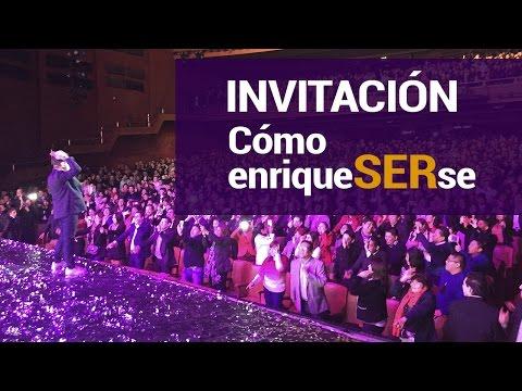 Invitación conferencia ComoenriqueSERse Juan Diego Gómez