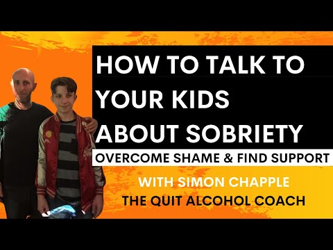 How to talk to your kids when you quit drinking alcohol