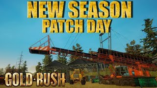 ⛏GOLD RUSH THE GAME PATCH DAY SEASON 2⛏