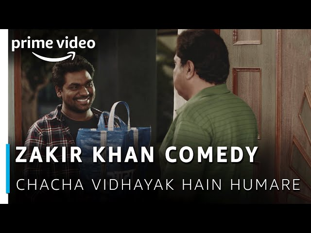 Zakir Khan Comedy - Aata aur Train Ticket   Chacha Vidhayak Hain Humare   Amazon Prime Video thumbnail