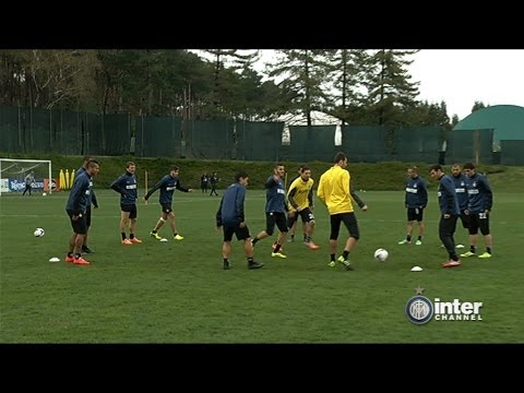 ALLENAMENTO INTER REAL AUDIO 26 03 2014