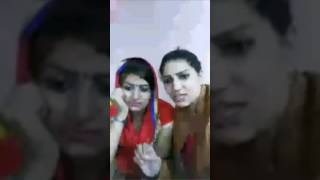 Monika and Sapna Chaudhary ji
