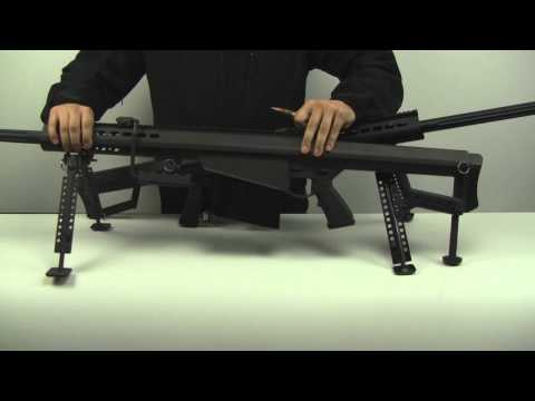 PeopleAirsoft.com - SOCOM Gear Barrett vs JG/Snow Wolf Barrett