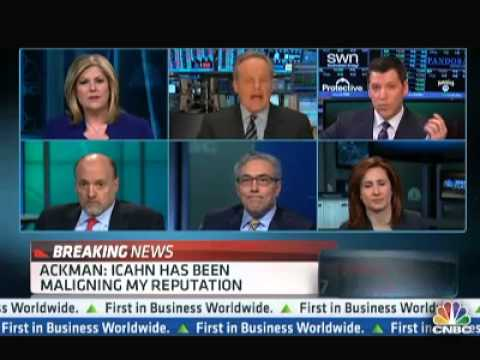 Ackman vs Icahn: CNBC's All-star Team Provides a Postmortem