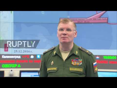 Russia: MoD give statement confirming plane crash and ongoing search operation