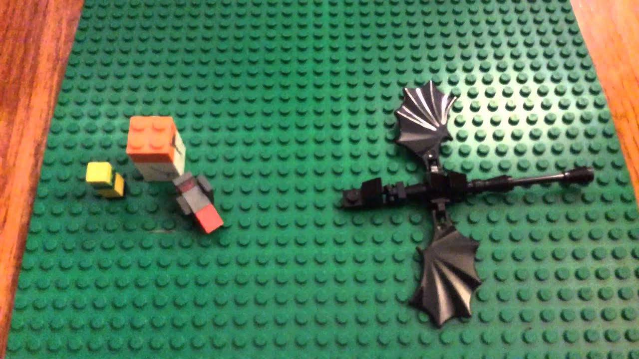 Lego Minecraft привет из детства с привкусом майнкрафта 38
