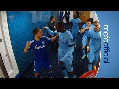 FUNNY Yaya gives Hazard a clip round the ear!