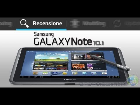 Samsung Galaxy Note 10.1. recensione in italiano by AndroidWorld.it