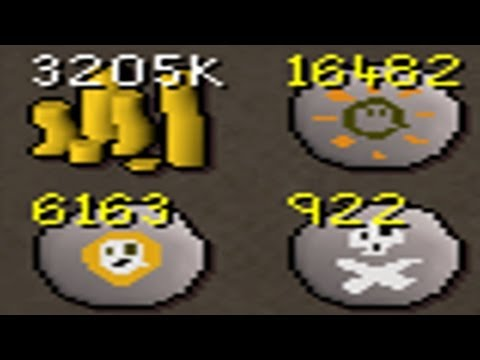 RuneScape 2007 - Loot From 100 Barrows Chest's (50/100) - Commentary