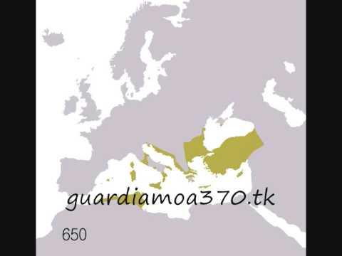 mappa dell'espansione dell'impero romano