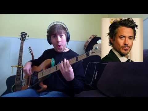 Driven to Tears - Sting & Robert Downey Jr. (Bass Cover)