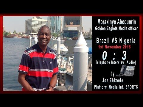 Nigeria Golden Eaglets Fifa U17.  Morakinyo Abodunrin (Media Officer) - Platform Media Int. SPORTS