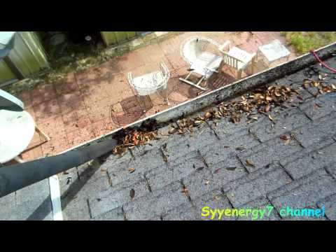 Fastest Way to Clean the Gutters on your House