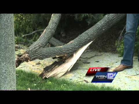 Winds cause widespread damage across southeast Wisconsin