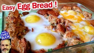 Easy Egg Bread for Baked Eggs Anytime