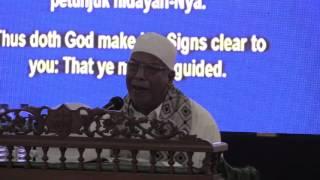 Tuan Haji Abdul Rahim (Surah Ali Imran 102-108) & (surah al-Balad 1-20)