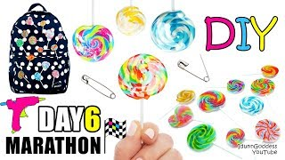 DIY Glue Gun Pins Lollipops - DAY 6 of 7-Day Marathon Of Glue Gun DIYs