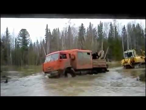 Tractor Stuck in Mud 2017 Compilation North Roads Russia Mega Machines Epic Fails Bulldozer Truck