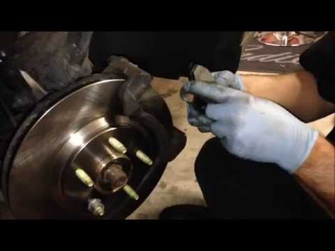 Cadillac Deville Front Brake Pad & Rotor Replacement