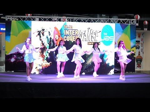 160703 Harmony Cover MINX - Love Shake @The Jas Cover Dance 2016 (Audition)
