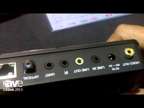 CEDIA 2014: VOCO V-ZONE Streams Music and Video Wirelessly