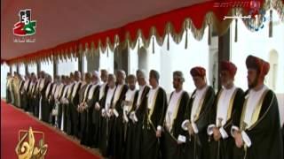 مقتطفات من الاستقبال الحافل لسمو أمير البلاد في سلطنة عمان