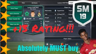 BEST YOUNG PLAYERS and their FUTURE RATINGS on Soccer Manager 19 (SM19) Part 2