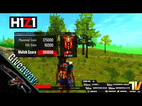 H1Z1 16 Kill Win! (Giveaway!)
