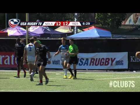 2014 Club 7s - New Orleans Royale vs. 1823 Rugby