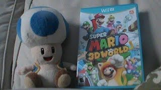 Blue Toad Plays Super Mario 3D World