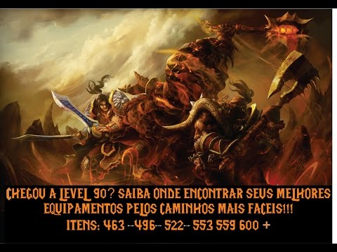 World of Warcraft - armaduras para level 90