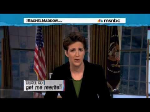 President Maddow's Fake Oval Office Address on BP Oil Spill & Energy
