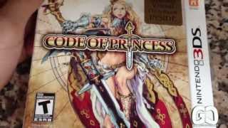 Code of Princess Limited Edition - 3DS - Unboxing