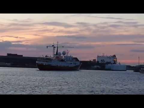 Dunkerque port le Paquebot Croisière de luxe