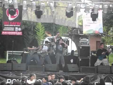 Cadaveria COL - SODOMIA  // En vivo VIVA! Festival ... Pereira 2011