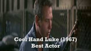 Paul Newman's acting Academy Awards nominations