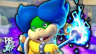 CLOUD KID - New Super Mario Bros. U Deluxe Co-Op (Part 14)