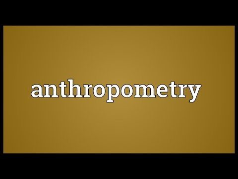 Header of anthropometry
