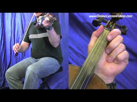 RED WING - [HD] Bluegrass Fiddle Lessons with Ian Walsh - Bluegrass Fiddle Lesson