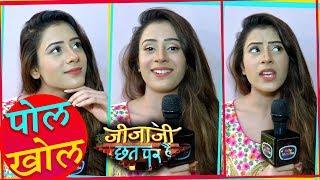 Hiba Nawab aka Elaichi Of Jijaji Chhat Par Hai Reveals Secret Of Sets