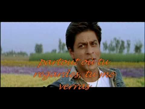 Main Yahan Hoon - Veer Zaara Lyrics French video