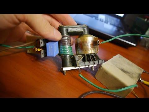 Как сделать трансформатор высокого напряжения - Psychology56.Ru